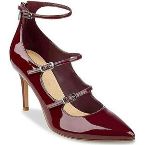 NWOT Marc Fisher Maroon Daily Dress Pump